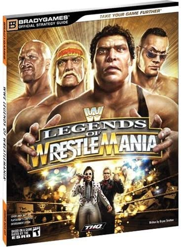 Amazon Com Wwe Legends Of Wrestlemania Guide Strategy Guide Everything Else