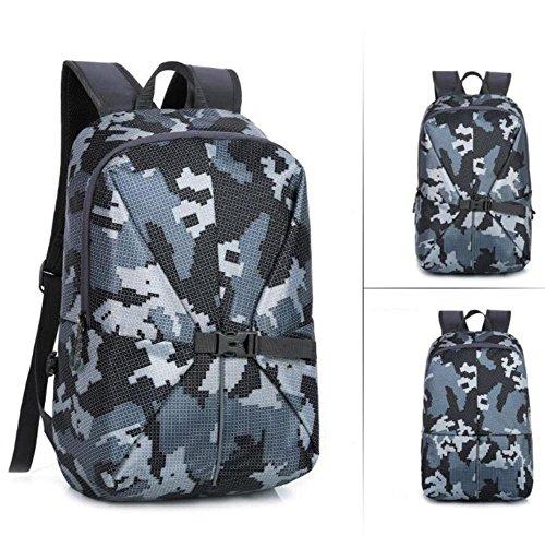 SZH&BEIB Moda Mochila al aire libre Viajes Hombres Mujeres bolsa y mochila para la escuela o en el Trabajo , E B