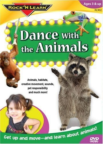 Dance With the Animals DVD by Rock 'N - Dance Kids Learn