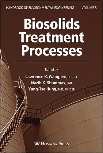 Biosolids treatment processes volume 6 handbook of environmental biosolids treatment processes volume 6 handbook of environmental engineering 2007th edition fandeluxe Gallery