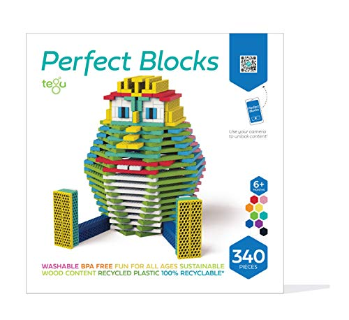 Tegu 340 Piece Perfect Blocks Building Set- Amazon Exclusive