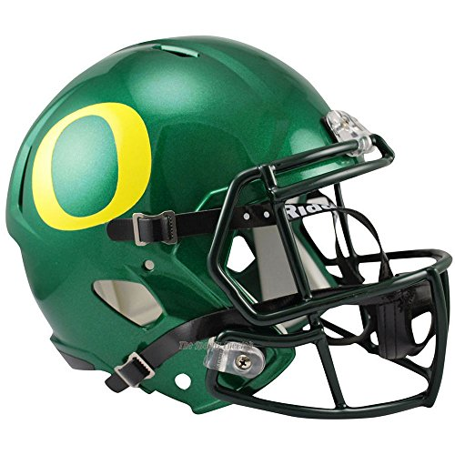 Oregon Ducks Officially Licensed NCAA Speed Full Size Replica Football Helmet (Oregon Ducks Football Helmet)