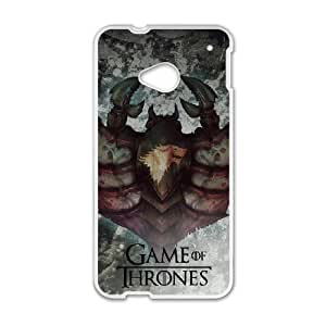 WINTER IS COMING Exquisite stylish phone protection shell HTC One M7 Cell phone case for Game of Thrones pattern personality design