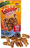 Gobble Turkey Tendon Papaya Wraps 5 oz. Package Free Range Dog Treats