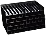 Spectrum Noir Universal Pen Trays, Black, Pack of 6, one size