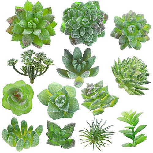 Fake Succulent, Artificial Succulents, Faux Succulents, Artificial Succulents Plants, Fake Succulent Unpotted, Bulk…