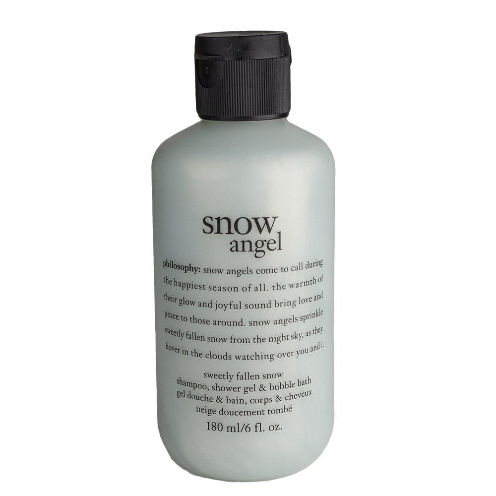 Amazon Philosophy Snow Angel Shampoo Shower Gel Bubble Bath 6 Oz Beauty