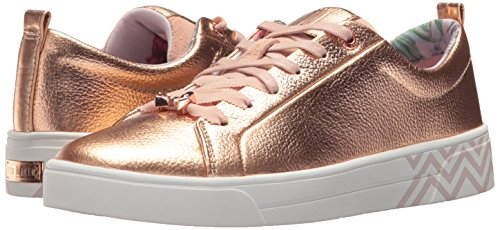 Women's Baker Ted Sneaker Rose Kellei Gardens Kelleip palace Print Gold qZwwCd5