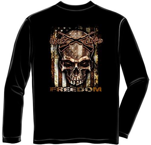 Fishing Lures kit | American Flag Freedom Long Sleeve T Shirt ADD-RN2305LSM