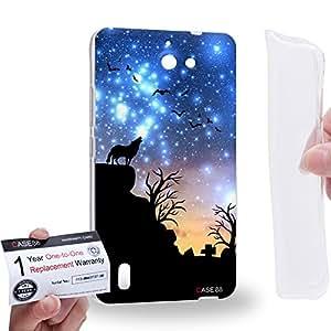 Case88 [Huawei Ascend G628] Gel TPU Carcasa/Funda & Tarjeta de garantía - Art Dreamscapes Silhouettes Journey Art1686