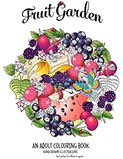 Fruit Garden Adult Colouring Book Achieve Colourings Of Which Will Look Good Enough