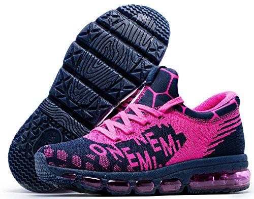 Donna Interior Outdoor Uomo Scarpe Fitness Running Blu Sportive Casual Sneakers roso Omemix E8q4xCI8