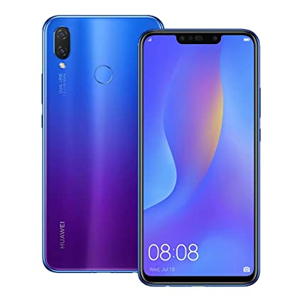 Huawei nova 3i (INE-LX2) 4GB / 128GB 6 3-inches Dual SIM Factory Unlocked -  International Stock No Warranty (Iris Purple)