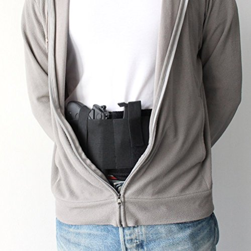 Holster Belly Band pour transport dissimulé |Compatible avec Gun Smith et Wesson Bodyguard, Shield, Glock , P238, Ruger… 5