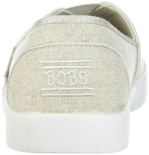 Loved Linen Mujer Natural B Lino Loved B Bobs Brillante Sparkle Skechers SkechersBobs Para qITRwT0p
