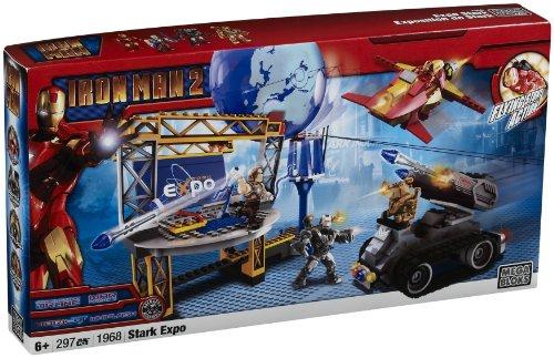 Mega Bloks Ironman 2 Stark Expo Playset by Mega Bloks