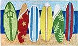 Surfboards Island Style Rug 30'' X 18''