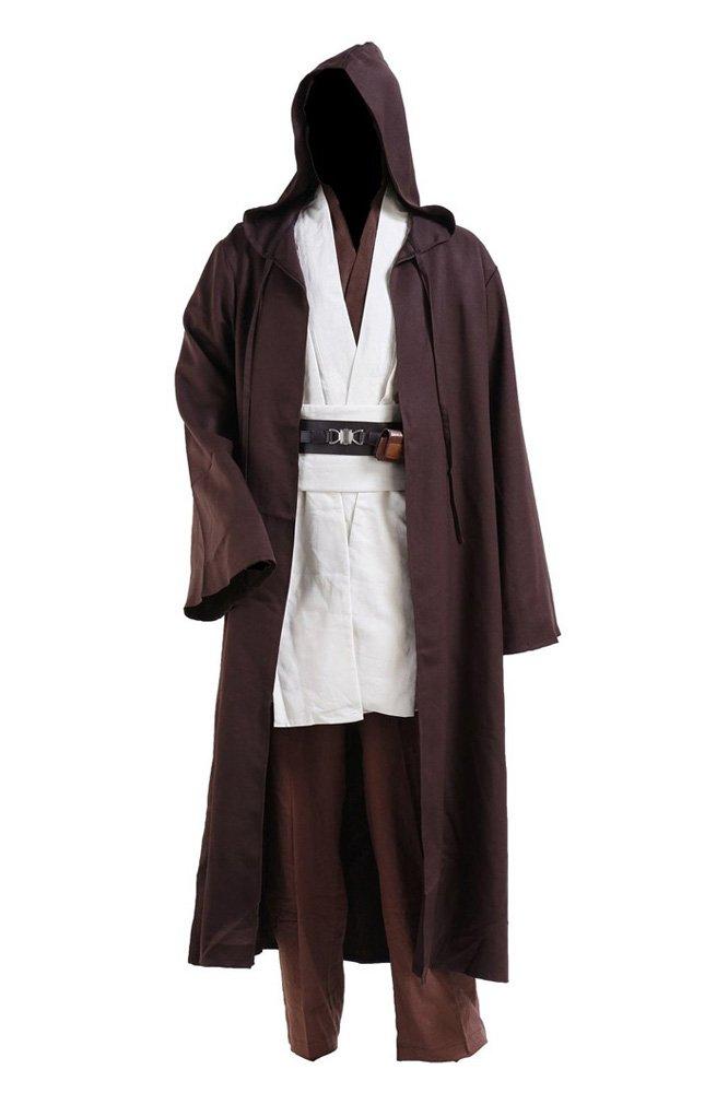 Anakin Skywalker Jedi Traje de Cosplay Disfraz Solo Capa ...