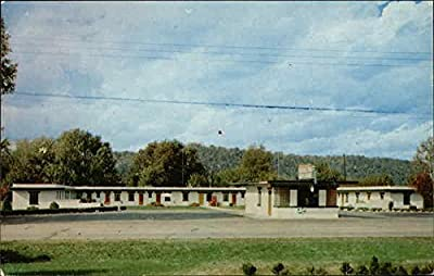 Carrollton Auto Court Carrollton, Kentucky Original Vintage Postcard