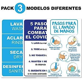 Pack 3 etiquetas adhesivas