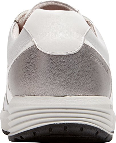 Women's Trainer White Trustride Fashion Derby Sneaker Metall Rockport qatBdSt