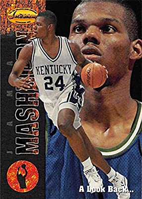 Jamal Mashburn Basketball Card (Kentucky) 1994 TWCC #83