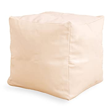 Lancashire Textiles grande asiento puff reposapiés cubo puf de ...