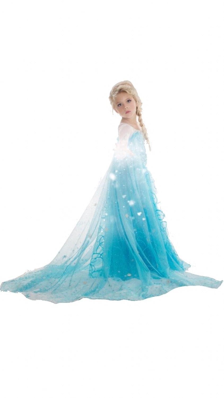 Amazon.com: Elsa Frozen Dress, 8-9 Years: Clothing