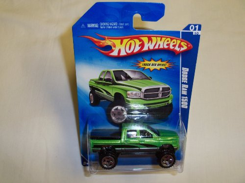 Hot Wheels Dodge Ram 1500 Series 1 #10 (Candy Apple - Hot Dodge Ram Wheels