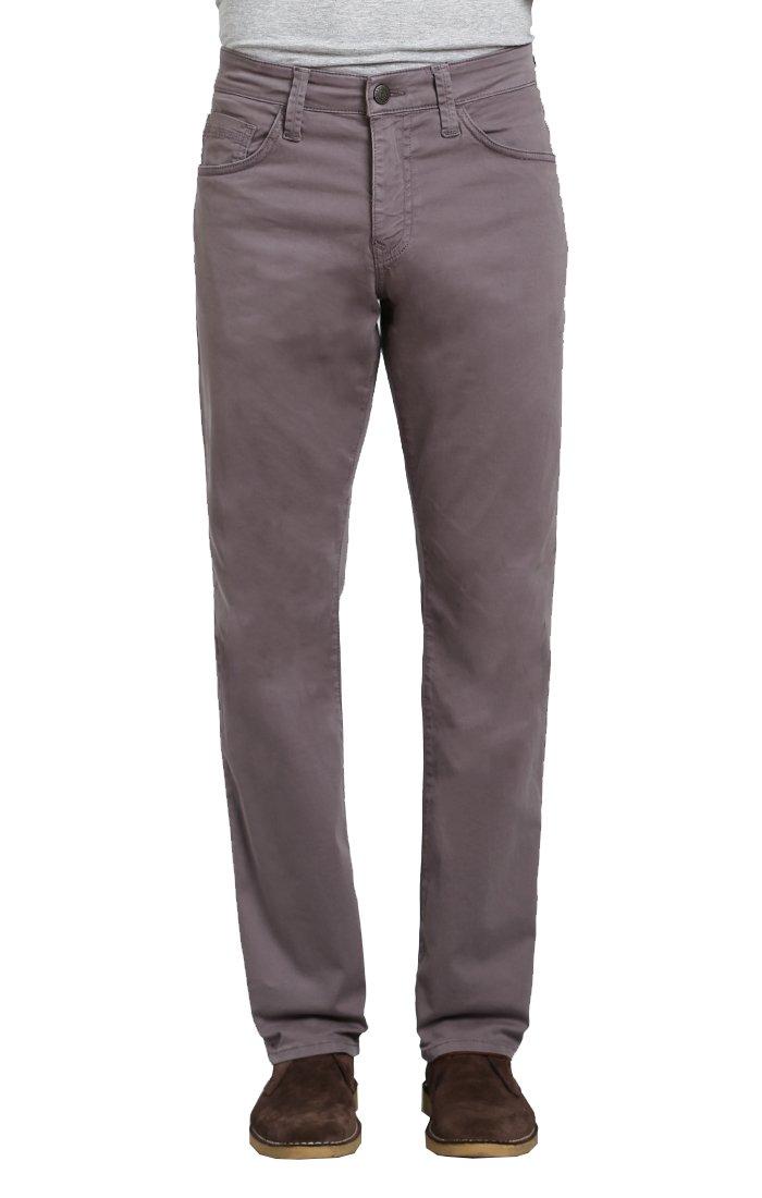 Mavi Men's Myles Straight Leg, Dark Grey Twill Size 40W X 32L