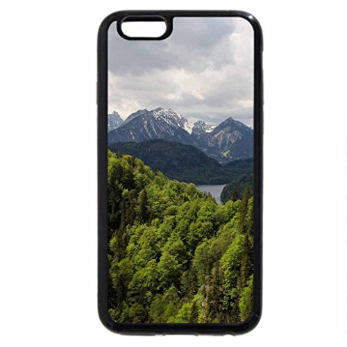 iPhone 6S / iPhone 6 Case (Black) old-imperial-castle