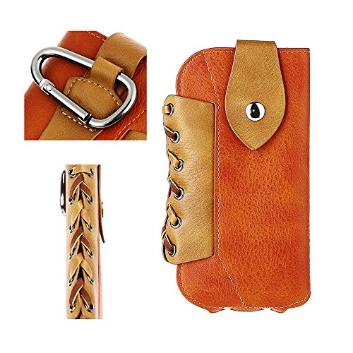 ARCHEER Leather Holster Carabiner Smartphone