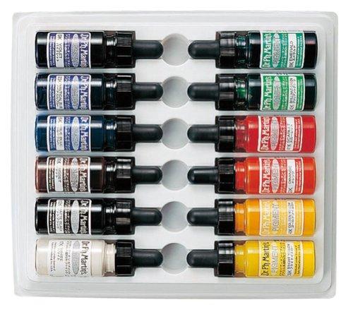 Price comparison product image Dr. Martin pigment basic color set (japan import)