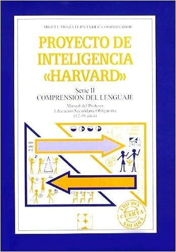 Book Proyecto de inteligencia Harvard: serie II, Comprensión del lenguaje. Manual del profesor 2.2