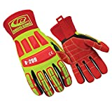 Ringers Gloves R-299 Roughneck, Heavy Duty Impact Glove, KevLoc Grip System, CE Level 5 Cut Protection, Large