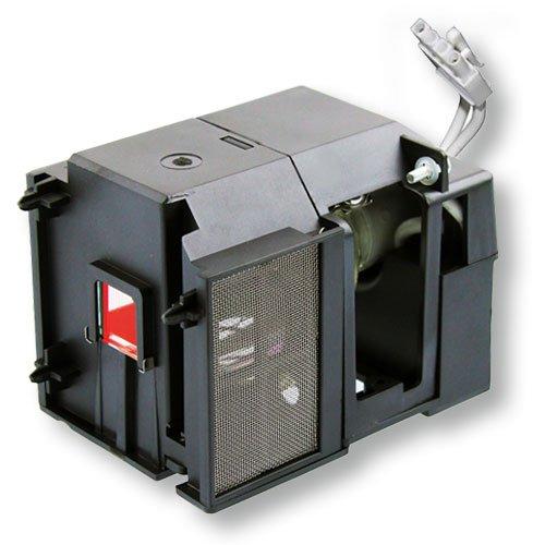 Geha コンパクト107 高品質互換交換用プロジェクターランプ電球 ハウジング付き   B0112MWACK