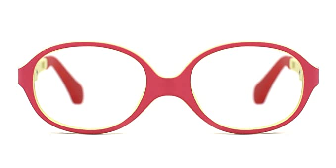 3612a0a2f09 Amazon.com  TIJN Baby Oval Comfortable Flex Eyeglasses Frame  Clothing
