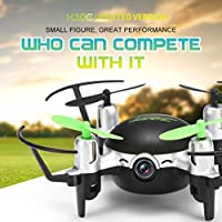 Leewa JJRC H30CH Altitude Hold HD Camera RC Quadcopter Drone With 2.0MP Camera - Black