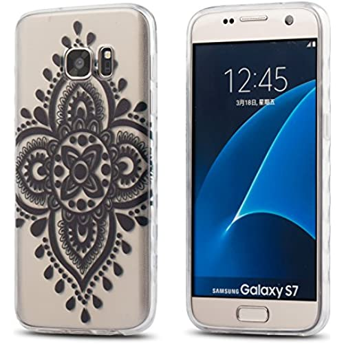 Galaxy S7 case?LiEcho slim Clear Transparent TPU Bumper Rubber Skin For Samsung Galaxy S7 case [8 Design] (LE-3) Sales