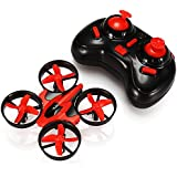 GoolRC Mini Drone with 3D Flips, Headless Mode, One Key Return, Full Protectors, H/L Speed, Anti Crush UFO RC Quadcopter