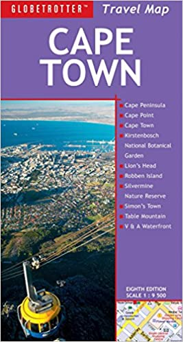 Cape Town Travel Map 8th