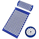 Acupressure Mat,Bed Grounding Mat Acupuncture Needles Back and Neck Pain Relief for Yoga