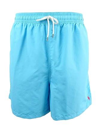 58919211c7 Polo Ralph Lauren Men's Big & Tall Traveler Swim Trunks (2XB, Margie ...