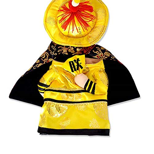 lightclub Halloween Pet Dog Cat Chinese Emperor Princess Outfit Cosplay Costume Clothes 2# -