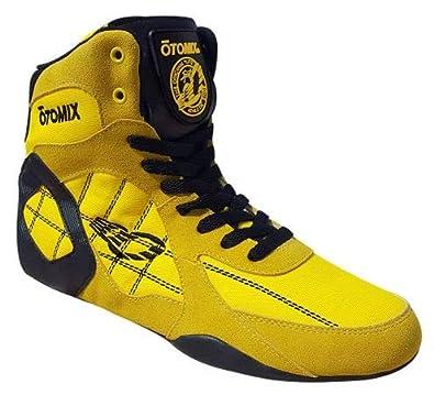 0b4a89538a OTOMIX Ninja Warrior Fitness Bodybuilding MMA Schuh Sneaker High Tops -  Yellow/Gelb - EU