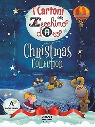 Canzoni Di Natale Zecchino D Oro.I Cartoni Dello Zecchino D Oro Christmas Collection Cd Dvd Amazon