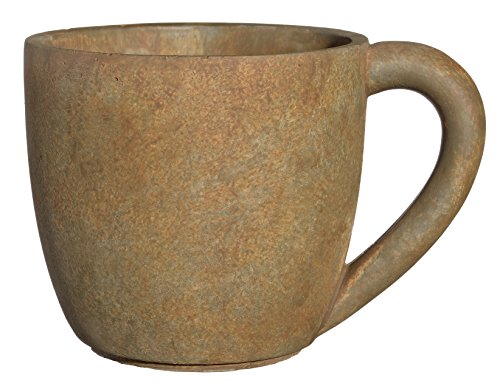 Classic Home and Garden 3/12819R/1 Coffee Mug Planter, Large, Rust -