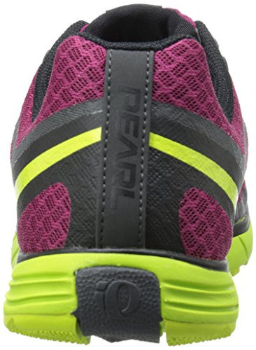 Pearl iZUMi Men EM Trail N1 v2 Running Shoe Beet Red/Lime Punch