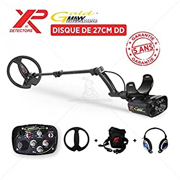 Detector de metales XP Maxx Power Gold: DD disco 27 cm: Amazon.es: Jardín