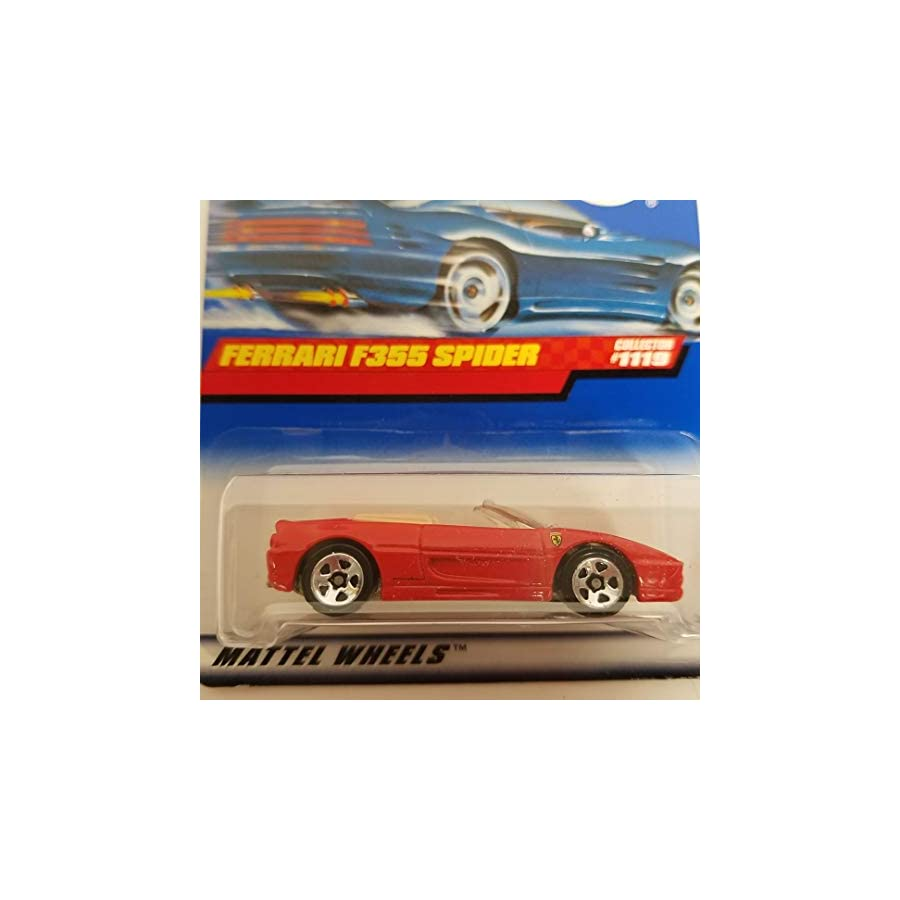 Ferrari F355 Spider 1999 Hot Wheels 1/64 diecast car No. 1119
